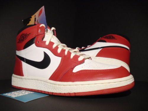 1985 ORIGINAL OG NIKE AIR JORDAN 1 CHICAGO I WHITE BLACK RED