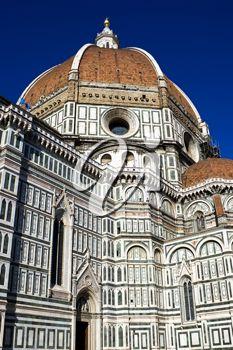 Royalty Free Photo of Duomo Santa Maria Del Fiore in Italy