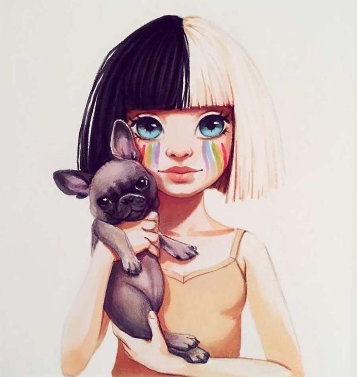 Verniedlichte Promi-Portraits – Süße Zeichnungen von Lera Kiryakova