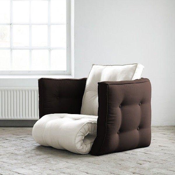 fauteuil-dice-karup-futon-naturel-chocolat
