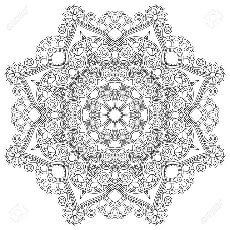 Stock Vector Tattoo ideas Mandala