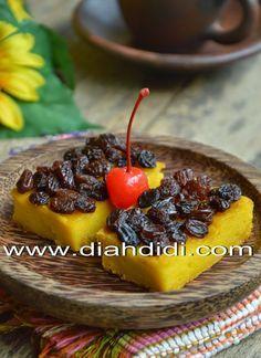 Diah Didi's Kitchen: Puding Panggang Labu Kuning