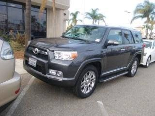 2011 Toyota 4Runner Low Miles JUST ARRRVIED!   JBL AM/FM/MP3 6-disc in-dash CD changer audio system -inc: XM satellite radio w/90-day subscription, USB port w/iPod connectivity, Bluetooth hands-free phone capability, Bluetooth music streaming capability, (15) speakers w/16L subwoofer box Tailgate sound optimization setting (2) aux audio input jacks. Call (805)988-8500 for more information.
