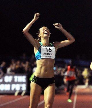 Jessica Andrews - Athletics. 10,000m.