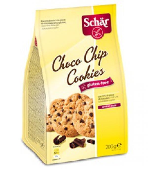 Sušienky Choco Chip Cookies Pepitas 200g, Schär