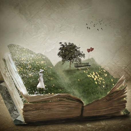 The Secret Garden ✿⁀° What do you see when you read? #biblioteques_UVEG