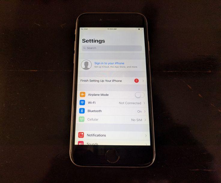 Apple iphone 6 16gb space grey a1586 cdma gsm