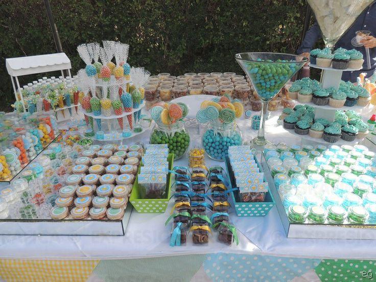 Mesa de dulces primera comuni n y bautizo dulces for Mesa dulce para comunion