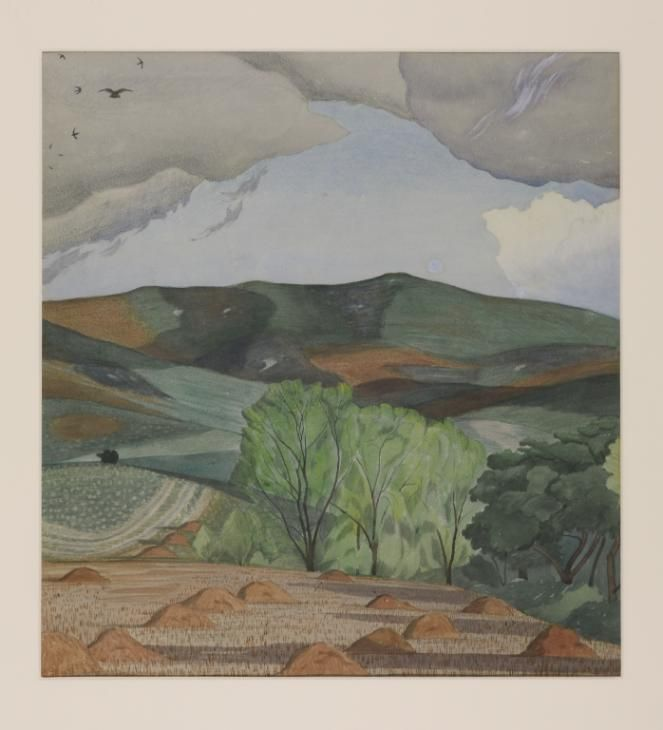 John Nash 'Dorset Landscape', c.1915 © The estate of John Nash. All Rights Reserved 2010 / Bridgeman Art Library