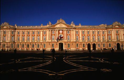 Le Capitole. Toulouse, France