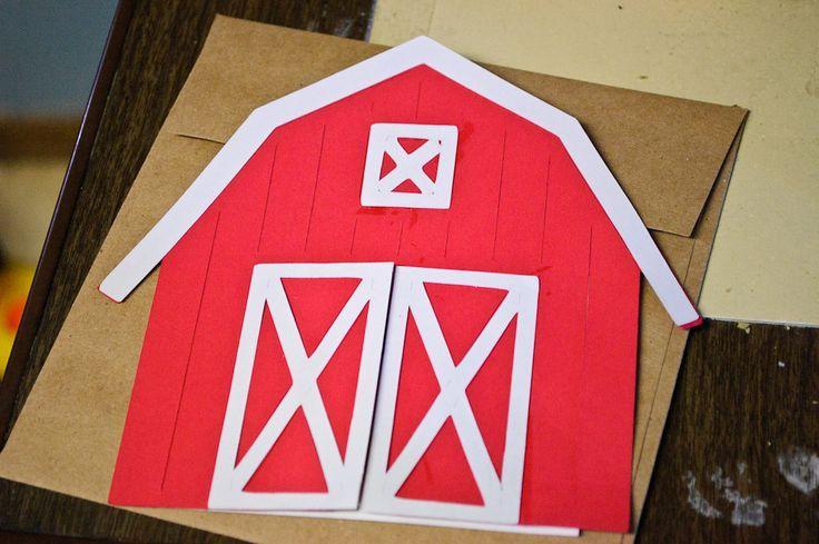 Barn Invitations Template | Craft Time: Barnyard Birthday ...