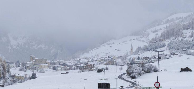 Wintereinbruch in Nauders am Reschenpass, Vorfreude auf den Skiurlaub