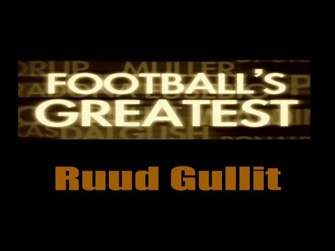 Ruud Gullit - Footballs Greatest - Best Players in the World ✔