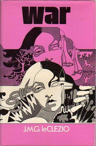 J.M.G. Le Clezio, 1973 Atheneum, Bill Botten dustjacket, via Flickr.