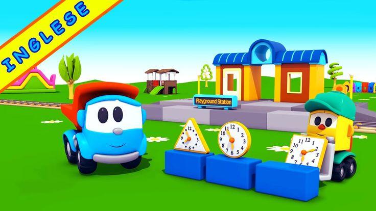 Cartoni animati per imparare l'inglese | Leo Junior e la playground stat...