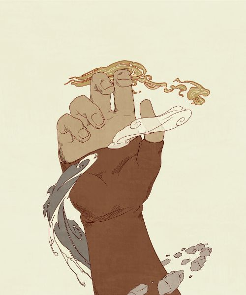 "la-vaniteuse: "" the legend of korra graphic """