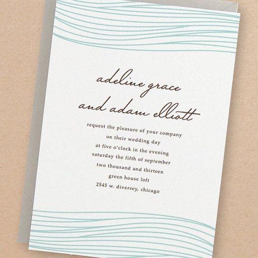 Unique Wedding Invitation Samples: 1000+ Ideas About Unique Wedding Invitations On Pinterest