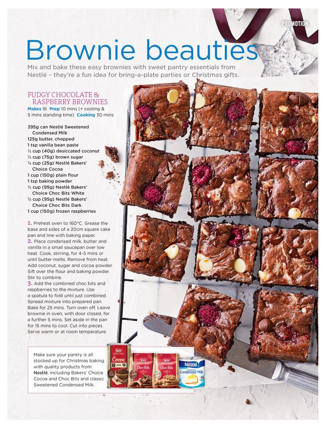 Coles Magazine November 2017 Christmas Baking Biscuit Cookies