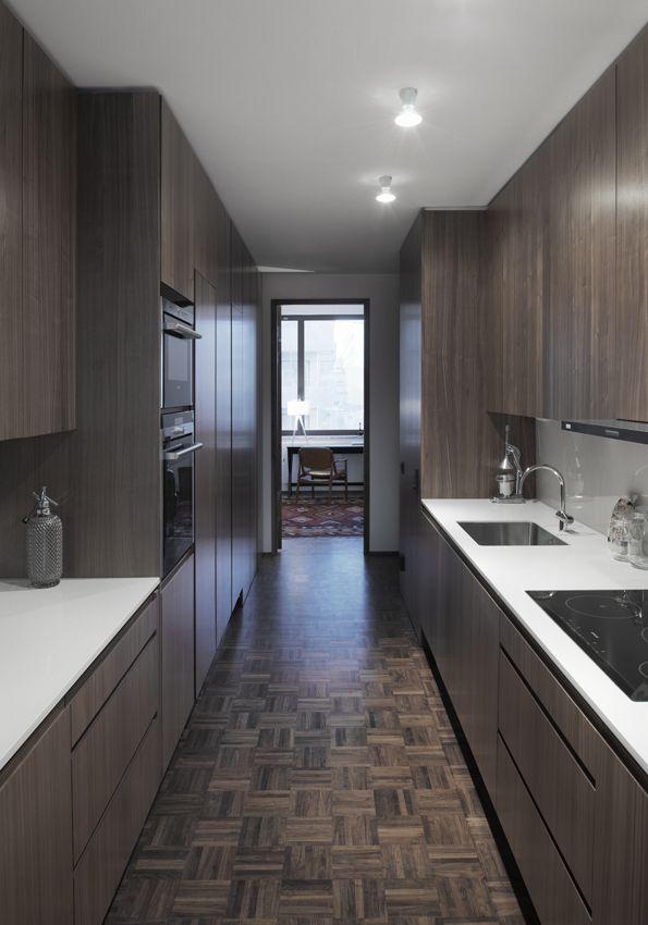 Oscar Properties: Ateljéhuset  #oscarproperties   kitchen, walnut