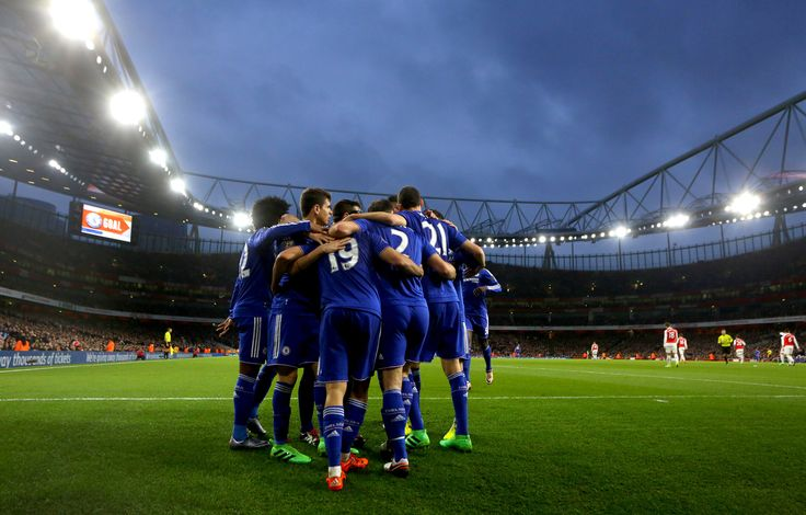 @Chelsea celebrating their goal. #9ine