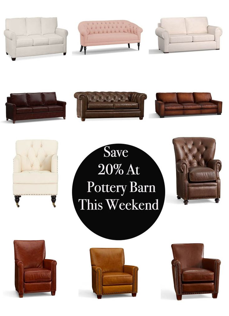 Lifestyle blogger Candace Rose Anderson of Candieanderson.com shares the best furniture and home decor items at 20% off during the Pottery Barn Weekend Sale happening Saturday, January 6 and Sunday, January 7, 2018.