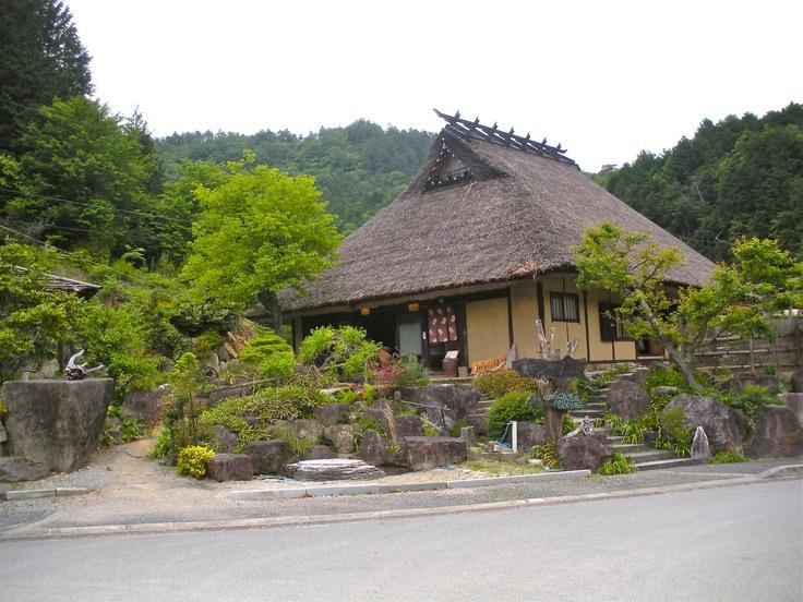 Traditional soba noodle shop. Sasayama. Japan.