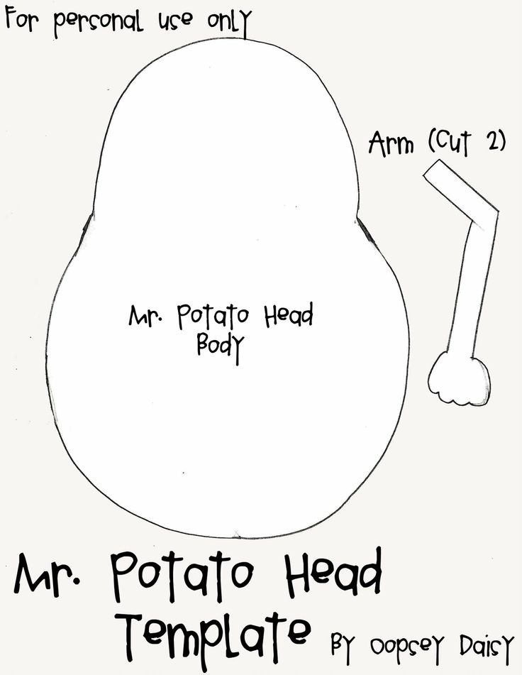 Quiet Book Templates (Mr. and Mrs. Potato Head) @Kristi Tucker   Daisy  - If you have trouble downloading the template check the comments as there are a number of download sites there... one of them worked for me the one in the post was not free any more.
