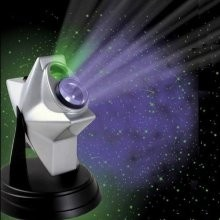 A sensory toy, I think perfect for adults too! he Galaxy Star Projector turns even the smallest room into a planetarium with a breathtaking lightshow of stars and nebulas