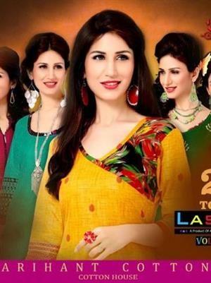 Buy Designer Lassa Two Top Vol-10 Dress Material