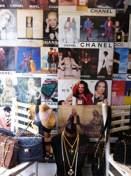 NYC vintage Chanel shop in Lower East.