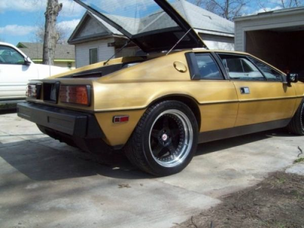 "Ultimate SHO Engine Swap? 1980 Lotus Esprit with Ford SHO = ""SHOtus"""