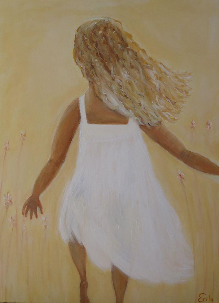Little Miss Sunshine - Oil on canvas