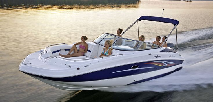 Hurricane Deck Boat. V hull or triple V. Used is fine. Love these boats, want to have fun with friends and family.