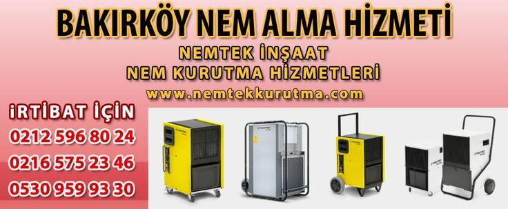 Bakırköy Nem Alma Hizmeti | Nem Alma | NEMTEK 0530 959 93 30