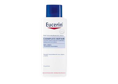 Eucerin Complete Repair Loción Intensiva para piel seca, áspera y tirante.