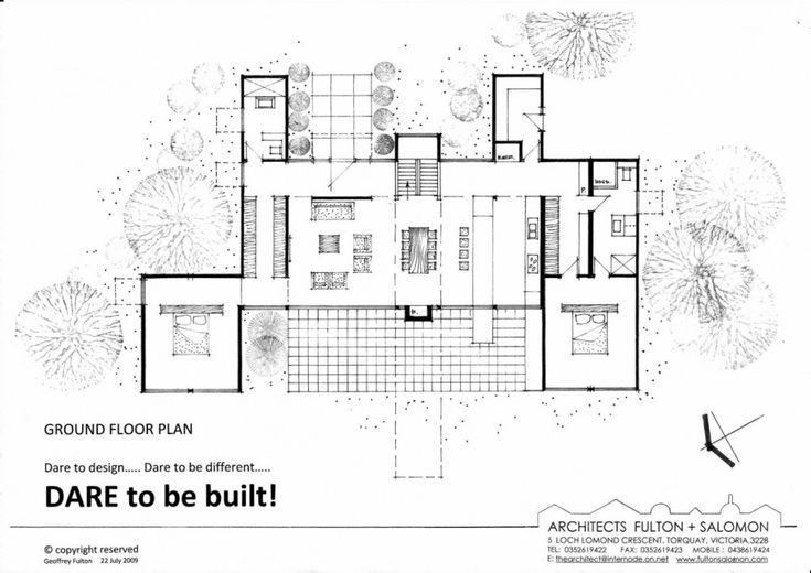 Container van house floor plan