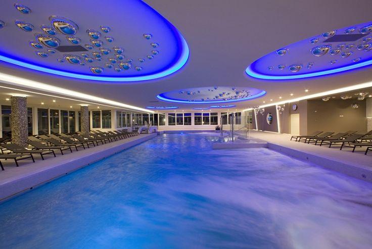 Piscina interna.. #blu #relax
