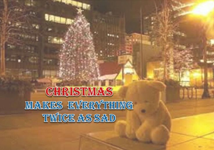 Christmas twice as sad