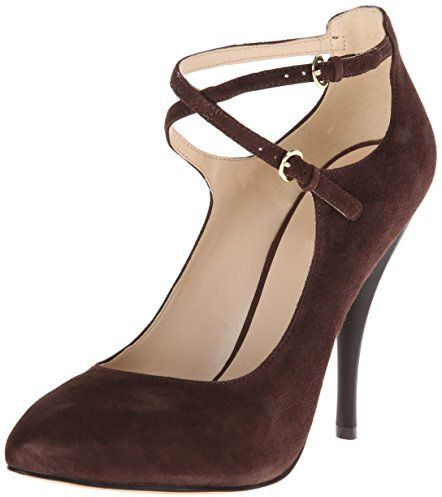 $32, Cohearent Suede Dress Pump by Nine West. Sold by Amazon.com. Click for more info: http://lookastic.com/women/shop_items/133426/redirect