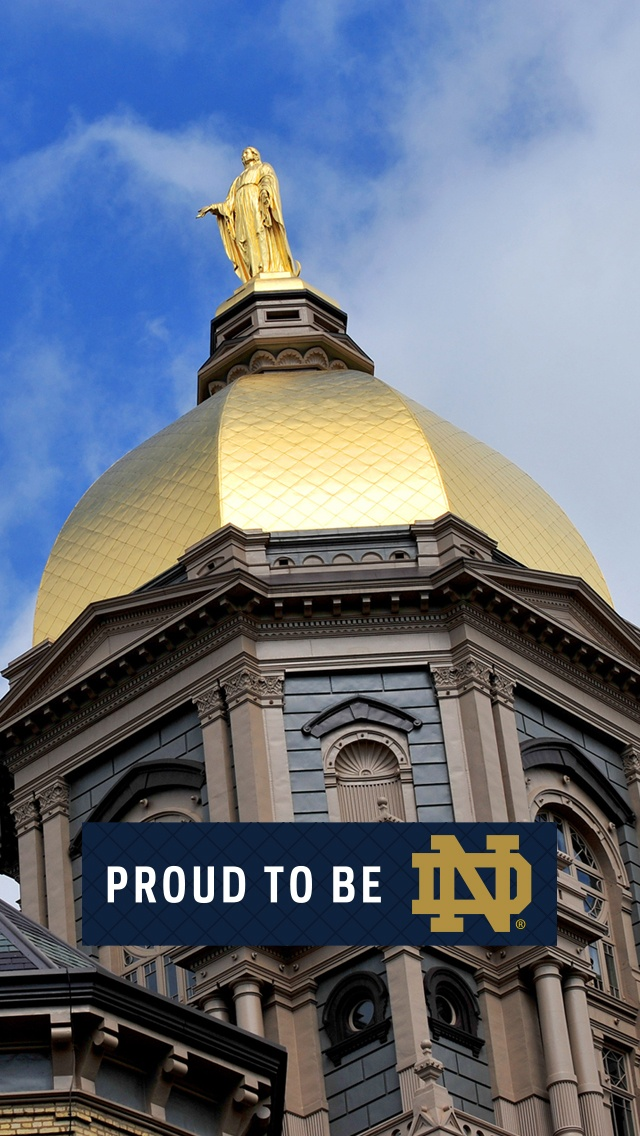 """Proud To Be ND. Like the Irish? Be sure to check out and """"LIKE"""" my Facebook Page https://www.facebook.com/HereComestheIrish Please be sure to upload and share any personal pictures of your Notre Dame experience with your fellow Irish fans!"""