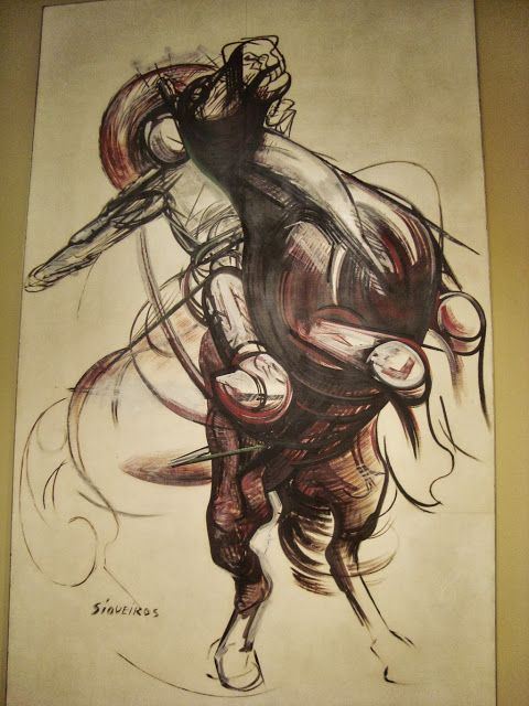Crafting together: Museos de México. David Alfaro Siqueiros, El Partisano, 1948