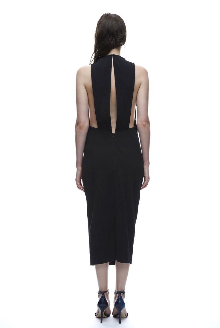 THIRD FORM SPRING 15 | MAIKO DRESS   #thirdform #fashion #streetstyle #style #minimalism #trend #model #blackandwhite