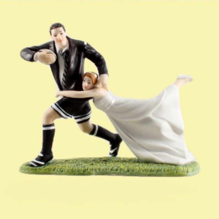 rugby couple wedding cake topper 1000 ideas about on 19463