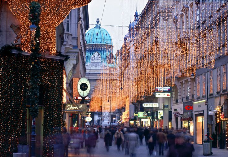 Festive markets and dazzling light displays are just the beginning in the Austrian capital.