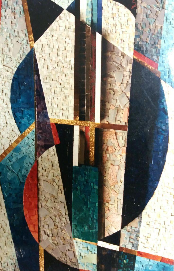 MENOSSI  MOSAIC   old mosaic 1979  #mosaicodinamico #mosaic_menossi  mosaic_menossi