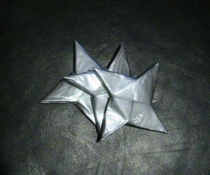 My trademark weapon: The Duct Tape Ninja Star. These shuriken are fast, simple and inexpensive to assemble, making stockpiling for your next mission a...