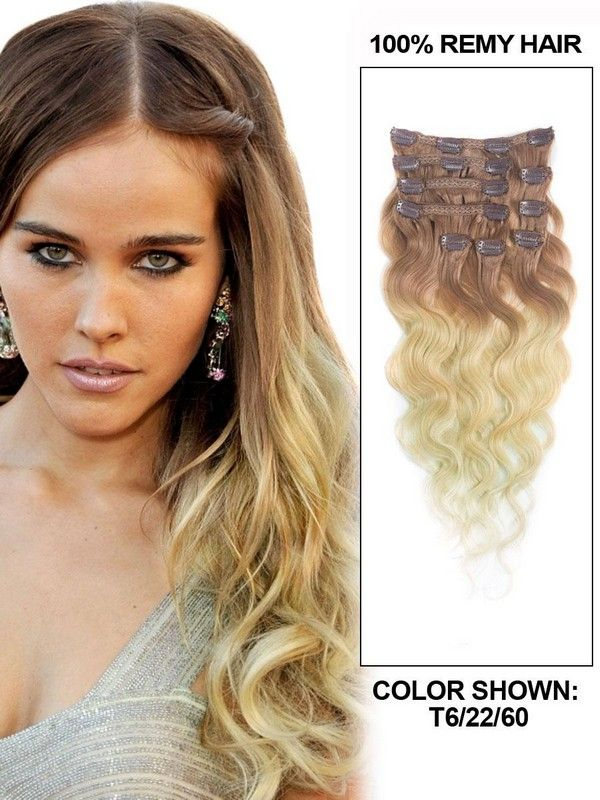 Hair Extensions Clip In Human Hair-01
