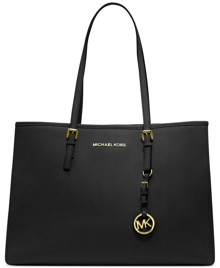 MICHAEL Michael Kors Handbag, Jet Set Travel East West Tote - Michael Kors Handbags - Handbags & Accessories - Macy's