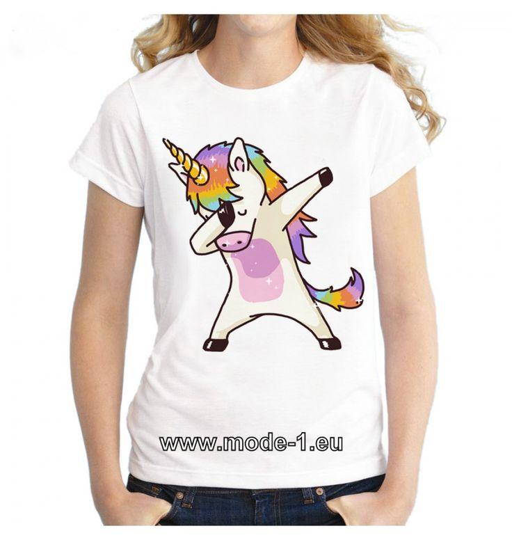 Einhorn T-Shirt für Damen