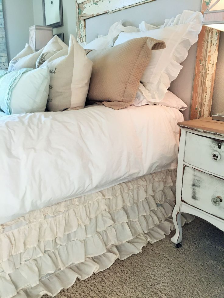 Ruffle Bed skirt - only $35 - House of Hargrove